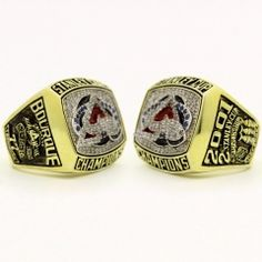 2001 Colorado Avalanche Stanley Cup Championship Ring