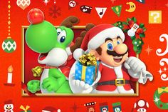 Nintendo uploaded four new Winter TV commercials for the Nintendo Switch in Japan. The latest commercials show various popular games enjoyed during the holiday season. Donkey Kong, Christmas Paper Crafts, Christmas Fun, Metroid, Yoshi, Mario Costume, Mario And Princess Peach, Mario Bros., Mario Kart