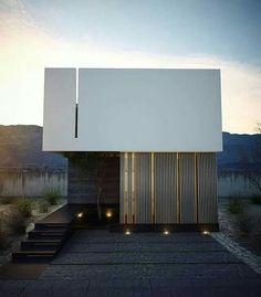 Minimalist two storey design