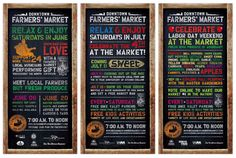 Red Dot Advertising + Design | Downtown Farmers' Market