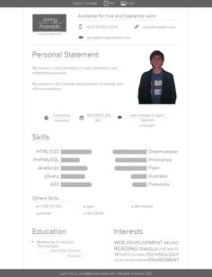 web producer resume httpwwwresumecareerinfoweb. Resume Example. Resume CV Cover Letter