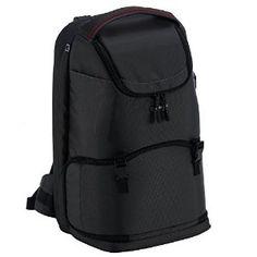 "Samsonite Universal DSLR Digital Camera Backpack, Lens Storage, Laptop To 15.6""/Mobile Pockets, Waterproof Rain Cover, B-Lite Fresh Foto M Rucksack Bag - Charcoal/Grey: Amazon.co.uk: Luggage"