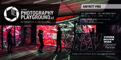 Besuchen Sie mich auf dem Olympus Playground 2015 in Wien Olympus, Playground, Amsterdam, Perspective, Broadway Shows, Neon Signs, Photography, Interactive Display, Light And Space