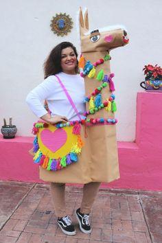 Machen Sie einen DIY Popsicle Stick Snowflake Building Kit - New Ideas Meme Costume, Funny Diy Costumes, Diy Halloween Costumes For Women, Halloween Costume Contest, Halloween Kids, Llama Costume, Costumes Kids, Costume Ideas, Couple Costumes
