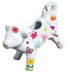 Summer Garden Cow Creamer
