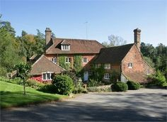 This is the A. A. Milne house in East Sussex, UK - the House at Pooh Corner.  So charming!