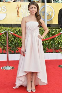There Was Some Serious Style at the SAG Awards—See the Best of the Red Carpet Here; Sarah Hyland in Pamella Roland