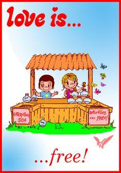 love is... free  (not by Kim Casali)