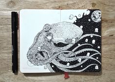 These Incredible Doodles Are So Intensely Detailed They Will Make Your Brain Explode. - http://www.lifebuzz.com/kerbys-sketchbook/