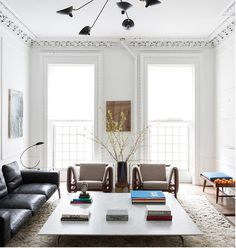 〚 Fascinating interiors of New York by Ashe + Leandro 〛 ◾ Photos ◾Ideas◾ Design Living Room Lounge, Living Spaces, Living Rooms, Architectural Digest, Room Inspiration, Interior Inspiration, New York, Top Interior Designers, Top Designers