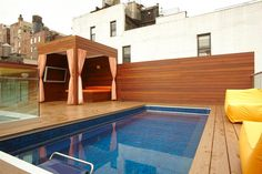 Swimming on a New York City rooftop? Yep. Possible with the Endless Pool.