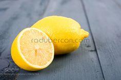 Fresh Yellow Lemons On Wood Table by radub85  IFTTT 500px background citrus close closeup cut food fresh freshness fruit half healthy ingredient