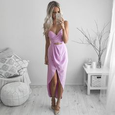 """3,676 Likes, 75 Comments - Kirsty Fleming (@kirstyfleming) on Instagram: """"Pretty in purple 🌸 @runawaythelabel"""""""