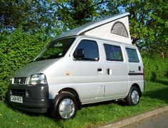 Midos Conversions provide high quality, innovative motorhome conversions to the Suzuki Carry van. Car Camper, Mini Camper, Camper Caravan, Campers, Motorhome Conversions, Camper Conversion, Suzuki Every, Kei Car, Van Camping