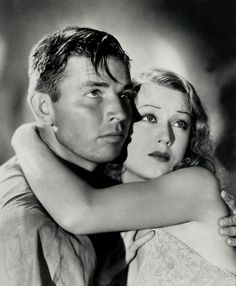Fay Wray and Bruce Cabot from the movie King Kong