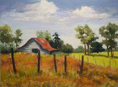 Old Farm by Judy Wilder Dalton Pastel ~ 12 x 16