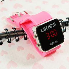 Kpop U-KISS fashion LED  watch