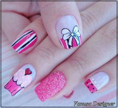 Divinas Pretty Nail Designs, Nail Art Designs, Mani Pedi, Manicure And Pedicure, Nails For Kids, Paws And Claws, Us Nails, Stylish Nails, Nail Wraps
