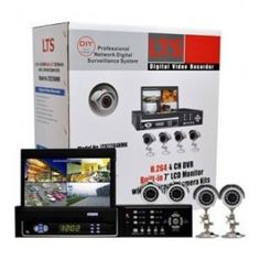 How to choose a do it yourself video surveillance system if you lts 4 channel h264 pentaplex dvr kit with 4 ir cameras 7 freerunsca Choice Image