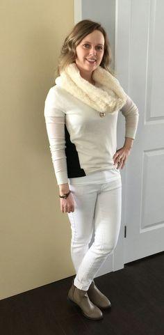 Glitterary Girl: Winter White #clubmonaco #joefresh #freshstyle #callitspring #aeostyle #beckandboosh #winterwhite