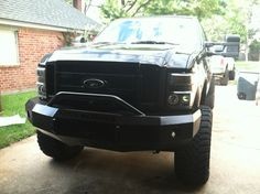 Iron Cross Bumper Ford