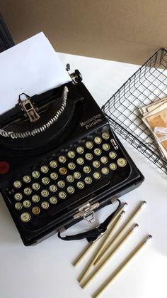 1920's Vintage Remington Portable Typewriter by FilthyRichDesigns, $175.00