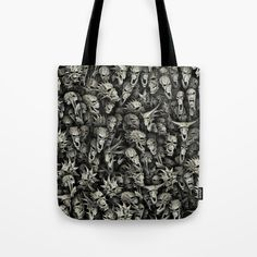 Demons Tote Bag by Dima_v. Worldwide shipping available at Society6.com. Just one of millions of high quality products available.