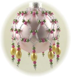 Spring Drops Ornament Cover Pattern