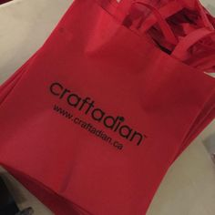 Glipse of the Craftadian Show swag bags 2015.  shop local, shop handmade in Hamilton.  Learn more www.craftadian.ca Swag Bags, Bags 2015, Shop Local, Handmade Shop, Paper Shopping Bag, Hamilton