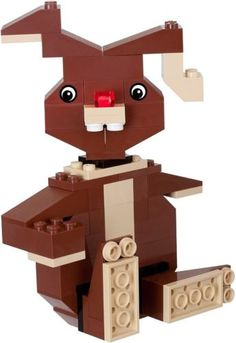 Just in time for Easter - a LEGO Bunny that you can build in an afternoon, making memories to last a lifetime!