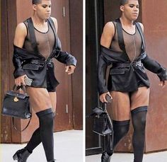 Magic Johnson's son EJ Johnson steps out looking like a ... (fill the gaps)