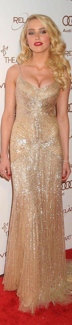Amber Heard - Donna Karan