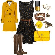 Yellow & Brown <3