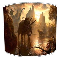 Epic Sunset Dinosaur