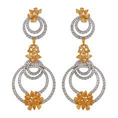 Earrings by Bapalal Keshavlal