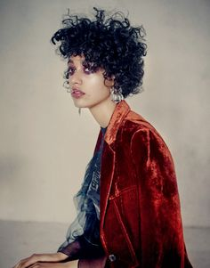 Damaris Goddrie for Porter Magazine Fall 2016 #16, ph. Drew Jarrett