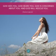When You Wonder if God is Concerned About You by: Sharon Jaynes Have you ever wondered if God really cares about you? If God sees you? If God is concerned about you? I have. Many times. And I think Moses did too. He was on the far side of the wilderness when God spoke to him through the burning bush…
