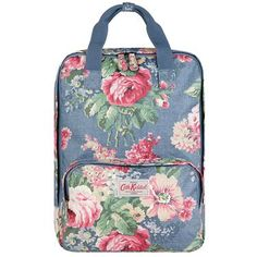 Our backpacks are just the right size for carry-on luggage so perfect for travelling, or when you have a lot to carry and like your hands to be free. Completed in our durable matt oilcloth finish with handy grab handles and specially designed padded laptop pocket, this beautiful Bloomsbury bag is great for people who are on the go.