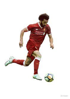'Mohamed Salah Artwork' by Armaan Liverpool Football Club, Liverpool Fc, Salah Liverpool, Cricket Wallpapers, Mo Salah, Mohamed Salah, Football Art, Famous Singers, Famous Women
