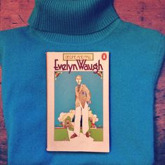 A colour coordinated jumper and book from Oxfam!
