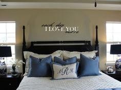 Each Day I Love You More  Vinyl Wall Lettering by brickhousevinyl, $22.25