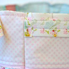 Pretty tote sewing tutorial 22