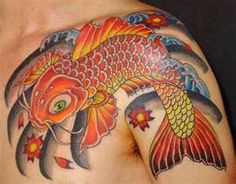 Image detail for -of Koi fish tattoo, fish, Japanese Koi fish tattoo, koi fish tattoo ...