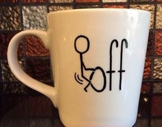 A crass and totally effective mug.
