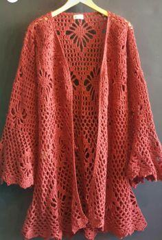 Chrochet, Getting Old, Crochet Clothes, Cardigans, Women Wear, Knitting, Board, Clothing, Ideas