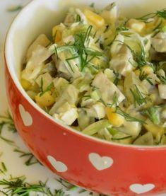 Idealne sałatki na weekend! - LifeStylowo.pl Veg Recipes, Salad Recipes, Vegetarian Recipes, Cooking Recipes, Healthy Recipes, Appetizer Salads, Appetizer Recipes, Appetizers, Vegetable Salad