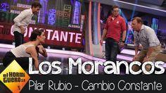 Pilar Rubio se ejercita con Los Morancos en El Hormiguero 3.0