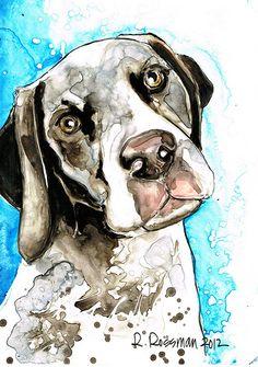 www.rachaelrossman.com  www.rachaelrossman.com  #YUPO #DoitonYUPO #Art #WaterColor #RachaelRossman