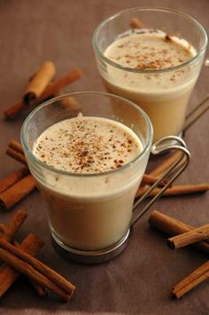 Hot Buttered Rum. It sounds delicious but I don't think it's a friend to anyone watching their waistline.