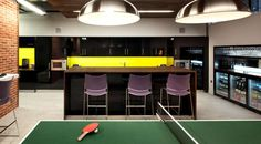 Morgan Lovell worked with one of the biggest banks in South Africa, First Rand to design their new London offices that contained a bar, jukebox and pool table.